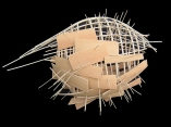 structura nº 9 - 2003 bois 50x30x30 cm