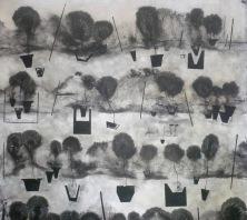 àncores a la terra nº 1(100 x100 cm)