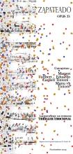 """Grafismo creado para la presentación del guion cinematográfico """"Zapateado"""" (2009)"""