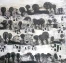notes a la terra (100 x 100 cm)