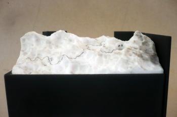 Abocador del paisatge I (17 x 15 x x14 cm). Detall