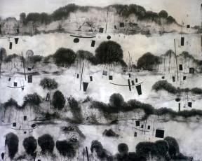 simfonia del paisatge (100 x 100 cm)